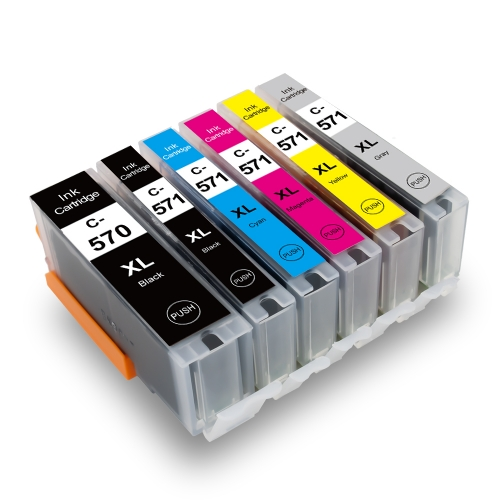 C-570XL / 571XL Replacement for Canon PGI-570 / CLI-571 Ink Cartridge