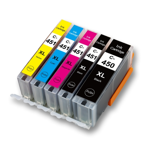 C-450XL / 451XL Replacement for Canon PGI-450 / CLI-451 Ink Cartridge