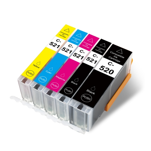 C-520 / 521 Replacement for Canon PGI520 / CLI521 Ink Cartridge